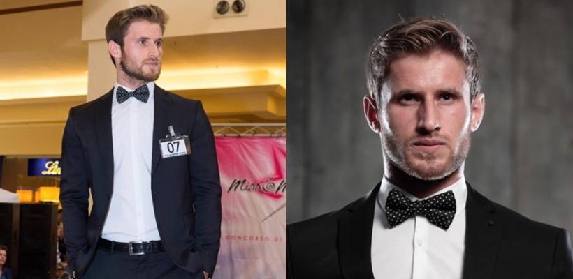 Basarabeanul Anatolie Chistol luptă pentru victorie la Miss & Mister Model Italia 2015
