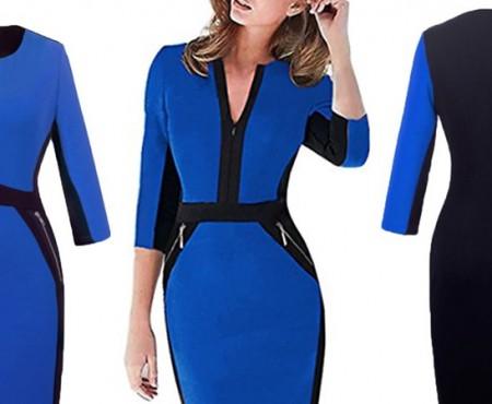 Un nou model de rochie face furori în spațiul virtual. E favorita prezentatoarelor meteo