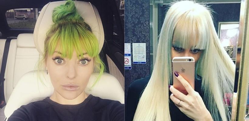 """""""Da, mamă, nu mai sunt verde și nici albastră!"""" Delia a revenit la culoarea blondă a părului"""
