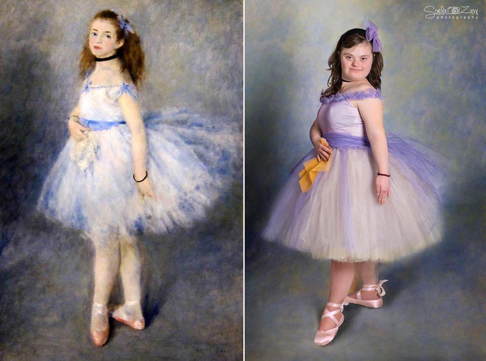 """Copiii cu sindromul Down ne conving din nou: """"Corpul uman este o operă de artă"""""""