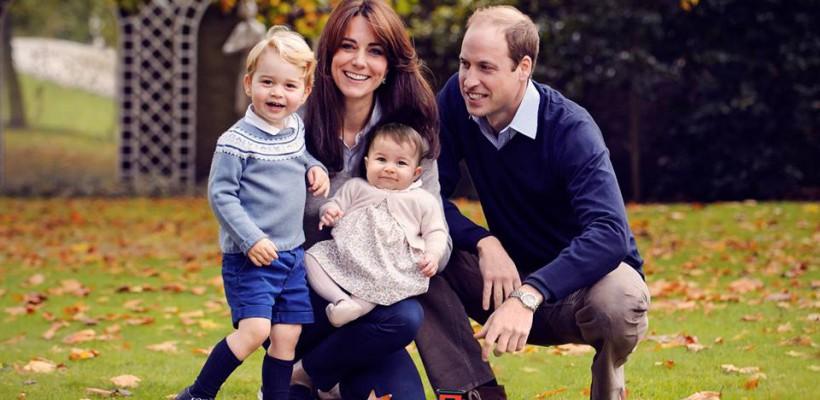 O nouă fotografie cu mica prințesă Charlotte Elizabeth Diana, în ajun de Crăciun