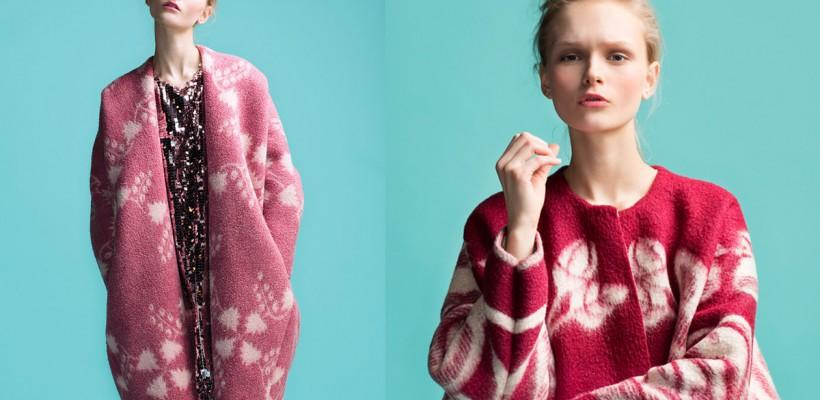 Un designer estonian creează paltoane simpatice din pleduri vechi