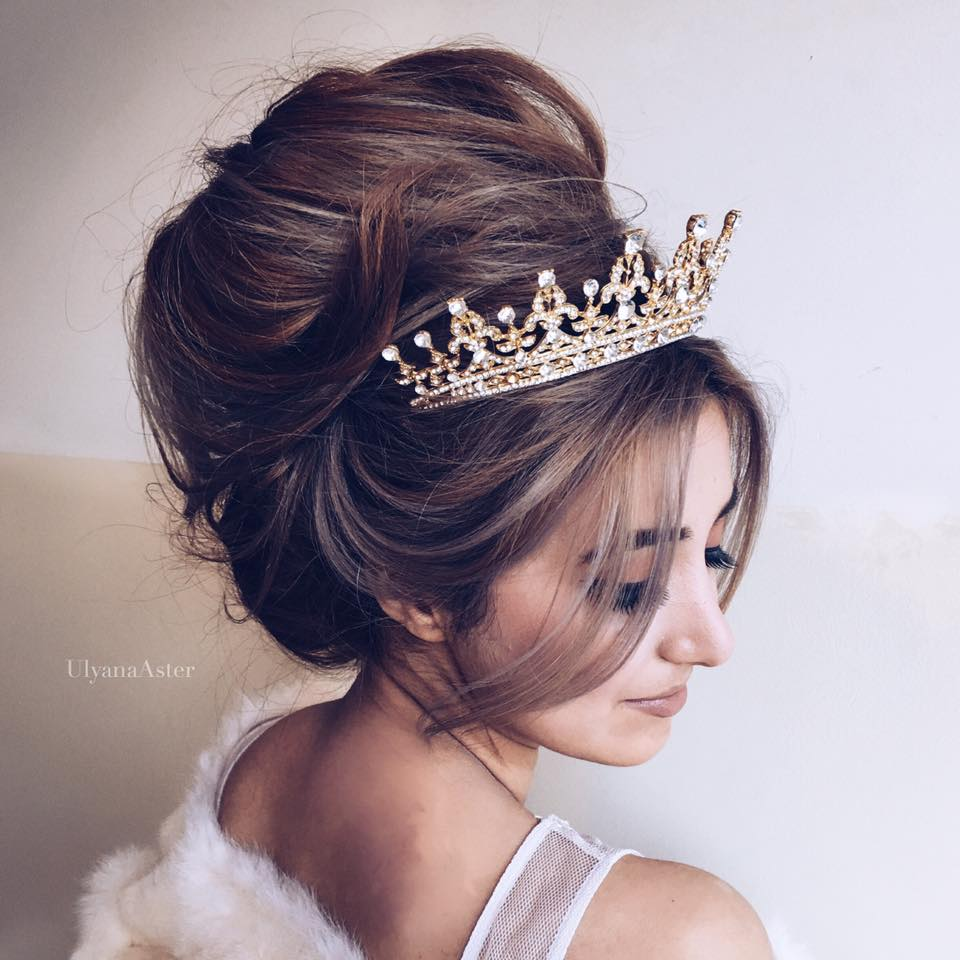 Coafurile Ei De Nuntă Fac Furori Pe Internet Ulyana Aster