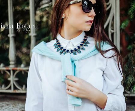 Interviu cu Adriana Rotaru – cea mai tânără fashion bloggeriță din Republica Moldova