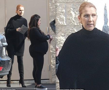 E îndurerată! Celine Dion, la prima apariție după moartea soțului și a fratelui (Foto)