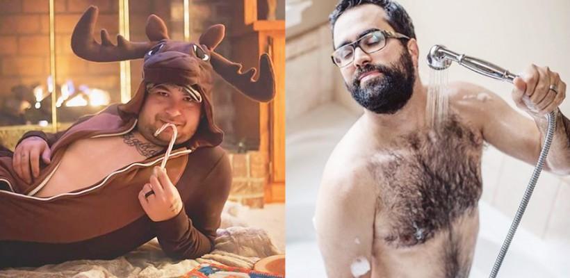 Când bărbații imită fotografiile de pe Instagram ale femeilor!