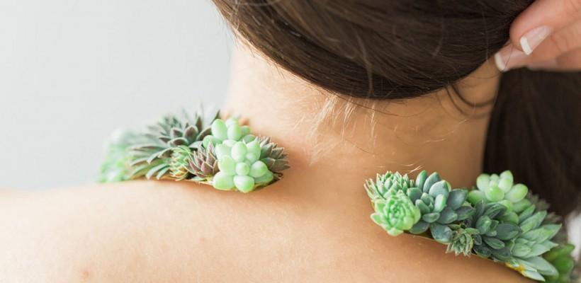 O americancă a conceput bijuteriile organice care cresc în timp ce sunt purtate