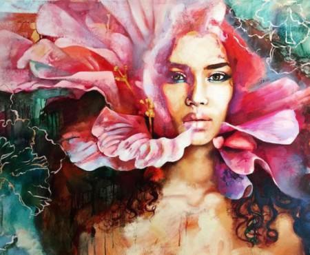 Ce se ascunde în mintea adolescentelor? O pictoriță de doar 15 ani și-a exprimat gândurile în culori