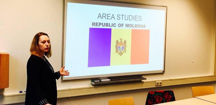 Grație Dorinei Baltag, Republica Moldova a fost inclusă în curricula Universității din Maastricht