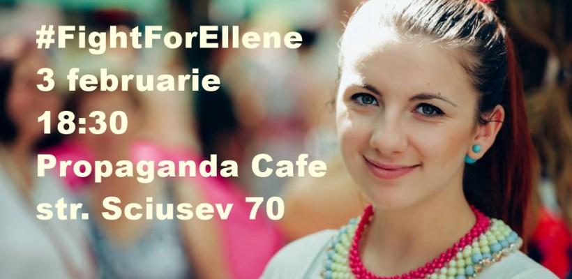#FightForEllene – o seară de suflet și solidaritate pentru fotografa Elena Mocrii