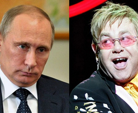 După o farsă telefonică, Elton John se va vedea pe bune cu Putin. Îl va convinge să sprijine drepturile gay?