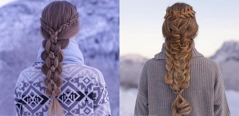 Două surori din Norvegia și-au creat un adevărat job din arta împletirii părului. Ce cosițe creează