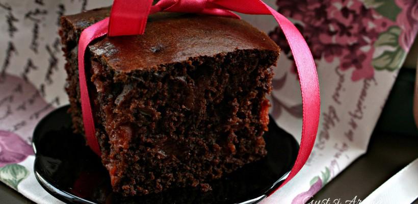 Gust și Aromă: Prăjitură cu vișine și ciocolată