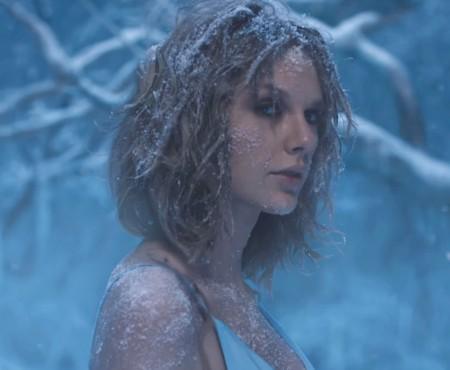A fugit cu lupii și a mers prin gheață! Scene making of din cel mai nebunatic clip al lui Taylor Swift