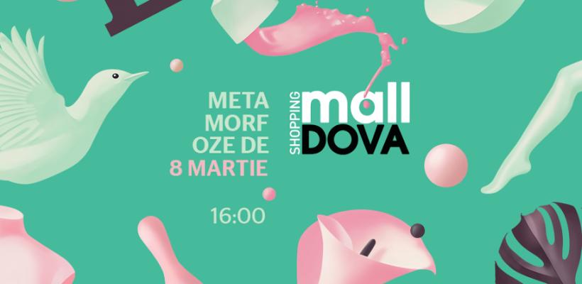 Metamorfoze cu miros de lalele,pe 8 martie la Shopping MallDova