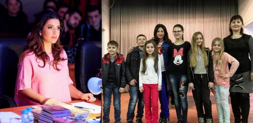 Jasmin a descoperit tinere talente în Orhei și a format o trupă (Video)