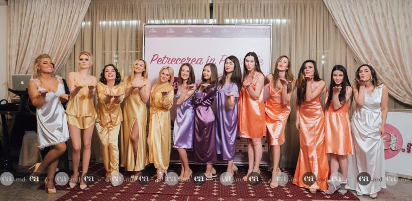 Gloria a prezentat o colecție exclusivă de lenjerie în cadrul Petrecerii în Pijamale