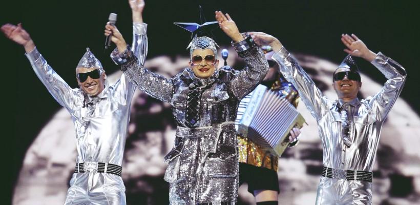 Costumul din 2007 al Verkăi Serduchka – exponat la Eurovision!