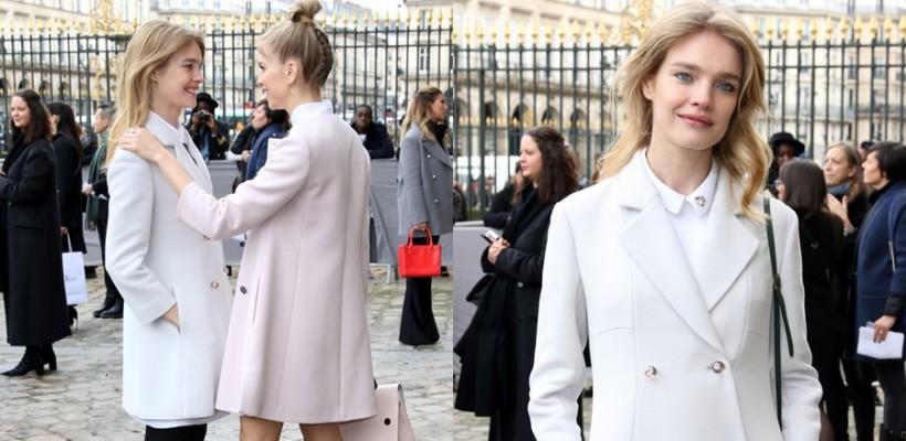 Natalia Vodianova recunoaște că poartă ținute ce îi camuflează sarcina