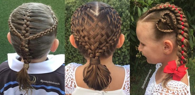O mămică din Australia îi cucerește pe internauți cu felul în care împletește părul fiicei