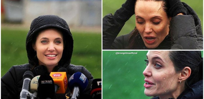 Angelina Jolie a avut o nouă apariție publică. Își arată sprijinul pentru refugiații din Siria
