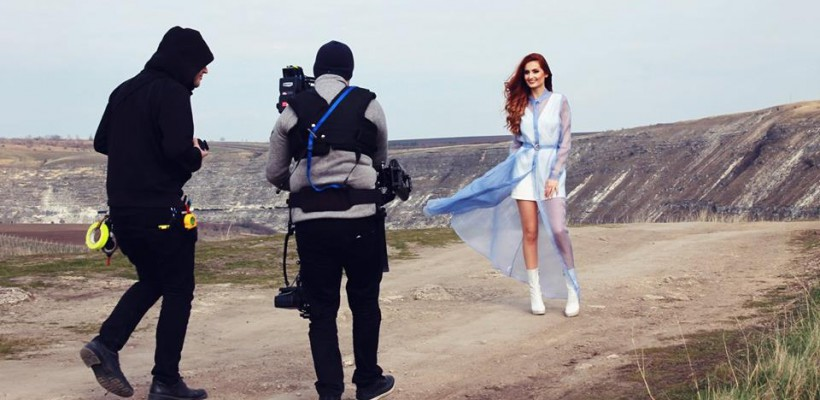 """Orheiul Vechi și parcul """"Valea Morilor"""" vor apărea în postcardul Lidiei Isac pentru Eurovision"""