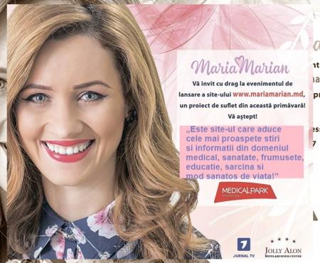 Maria Marian își lansează propriul site care va promova modul sănătos de viață