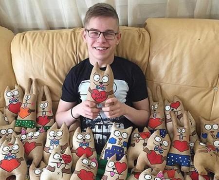 Jucăriile lui au făcut înconjurul lumii! Daniil Zinoviev a adunat banii necesari pentru reabilitare