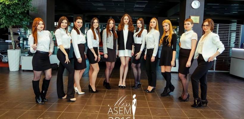 """Admiră concurentele care luptă în acest an pentru titlul de """"Miss ASEM – Viitoarea femeie de afaceri"""""""