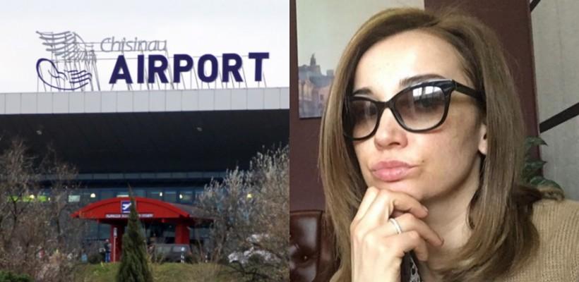 Vedeta rusă Anfisa Chekhova, contrariată de ce a văzut la Aeroportul Internațional Chișinău
