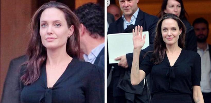 Angelina Jolie, surprinsă în public după multiplele zvonuri legate de spitalizare