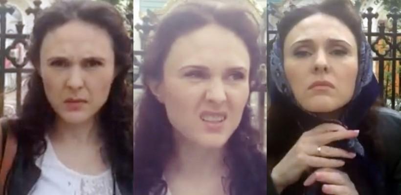 Parodie marca Ionela Hadârca: Despre Împărtășanie și păcate făcute chiar la poarta Bisericii (Video)