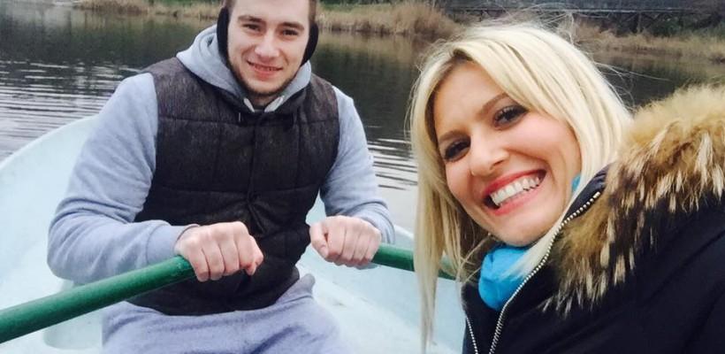 Dianna Rotaru se afișează într-o nouă fotografie în compania iubitului