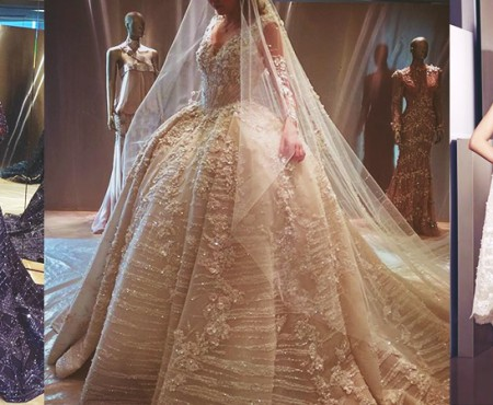 Sunt fabuloase! Rochiile de ocazie ale unui designer libanez depășesc orice așteptare