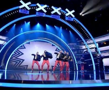 """Instrumentiștii de la Concertino au avut o evoluție de excepție la """"Românii au Talent"""""""