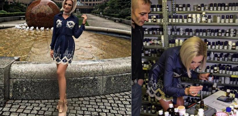 Olga Buzova își crează propriul parfum în Germania (Foto)