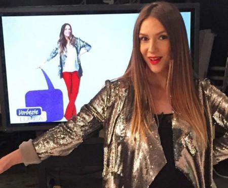Adela Popescu a avut o ultimă apariție TV înainte să nască (Foto)