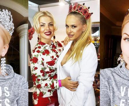 """Lilia Caraush reinventează purtatul coroanelor: """"Femeia trebuie să fie regină mereu și oriunde!"""""""