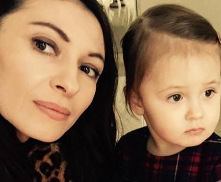 Ekaterina Filat îi face mamei o declarație de iubire! Cât de mare a crescut fetița de 2 ani (Video)
