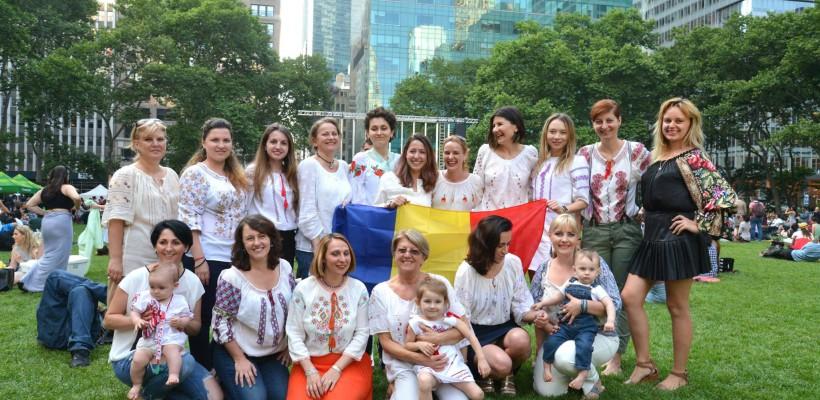 Cum au sărbătorit moldovencele din New York de Ziua Universală a Iei (Foto)