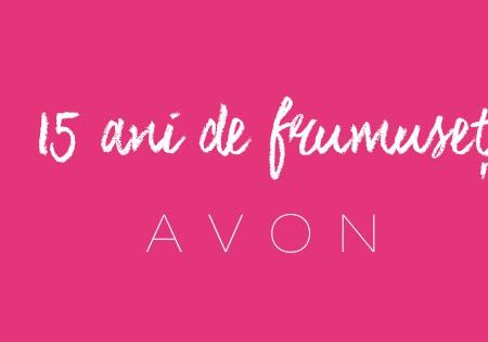 15 ani de frumusețe – mascara Avon