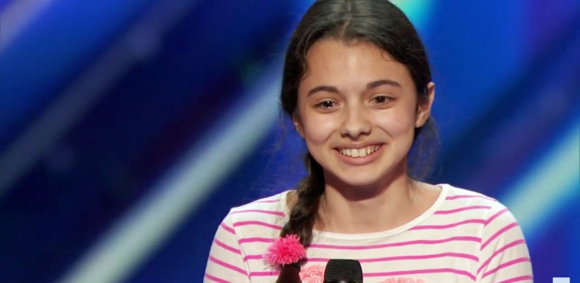 Mica interpretă română Laura Bretan, trimisă direct în semifinalele America's Got Talent (Video)