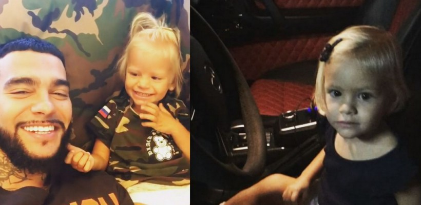Timati și-a așezat fiica la volan! Admiră u filmuleț amuzant cu micuța Alisa (Video)
