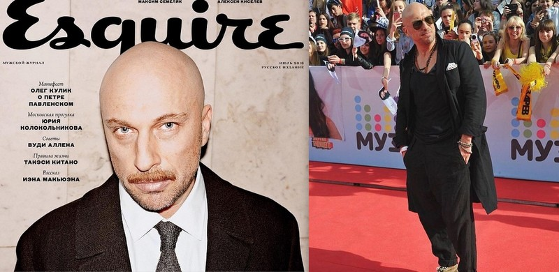 """Dmitriy Nagiev, primul actor rus, ajuns pe coperta Esquire: """"Vârsta m-a învățat să aștept"""""""