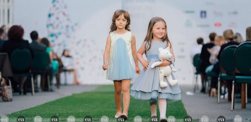 """Vivi Art Boutique a adus pe podiumul """"Din Inimă"""" colecția sa de debut! Cum au defilat copilașii (Foto)"""