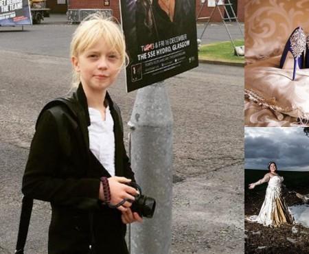 Cum a ajuns o fetiță de 9 ani să devină fotografă soliciată la nunți