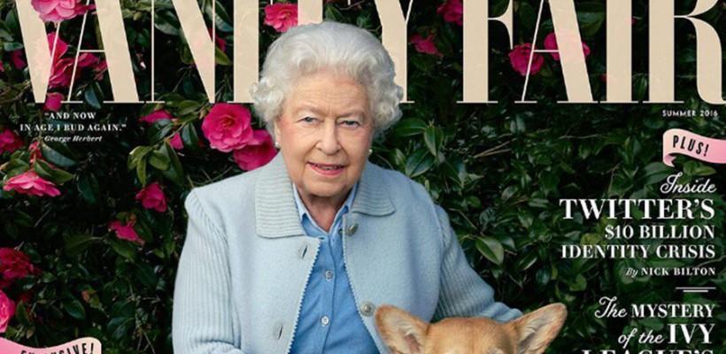 Regina Elisabeta a II-a, pe coperta unei reviste mondene!