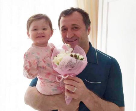 Mesajul lui Vlad Filat la a doua aniversare a mezinei Ekaterina (Foto)