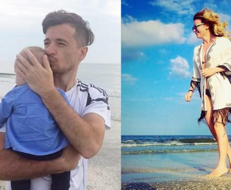 Radu și Ana Sîrbu: prima vacanță la mare în 5! Fericita mămică afișează o imagine de invidiat