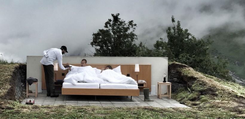 Dormi sub stele! În Alpii elvețieni a fost deschis primul hotel open air din lume